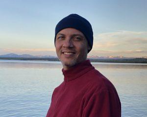 Ryan at Yellowstone Lake
